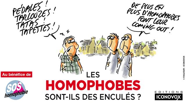 Livre « Les homophobes sont-ils des enculés ? » contre l'homophobie