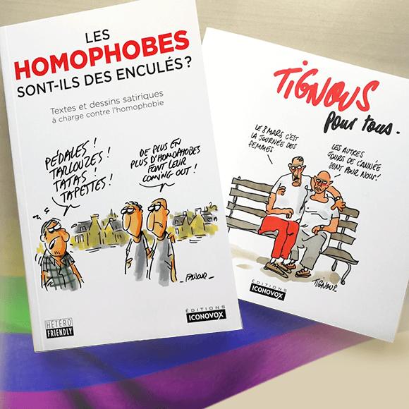 Les homophobes sont-ils des enculés ? et Tignous pour tous